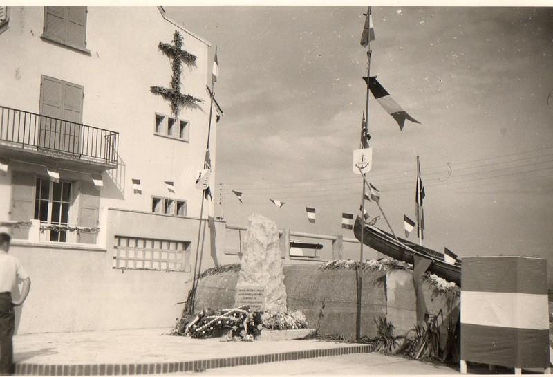à la mémoire des 5 garçons qui ont rejoint l'Angleterre en canoë en Septembre 1941