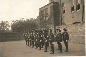 Les premiers cadets à Malvern en Février 1941