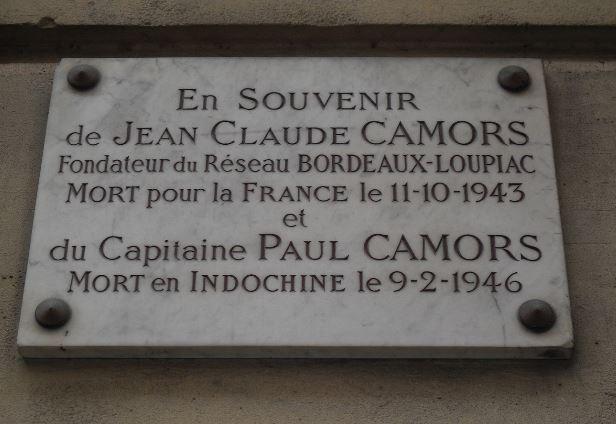 Jean-Claude CAMORS à PARIS