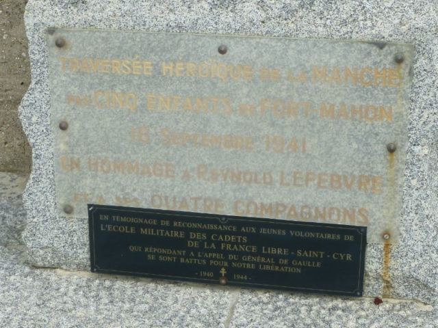 Quatre des garçons partis de Fort-Mahon en 1941 ont intégré l'école des Cadets de la France Libre