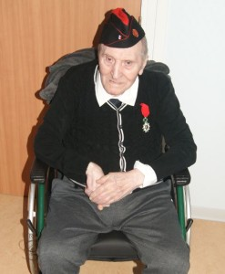 Guy Richard le 16 mars 2019 reçoit la légion d'Honneur (Photo UNC-AME