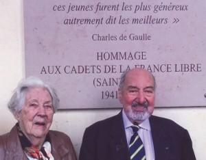 Claude et Françoise Voillery en 2016