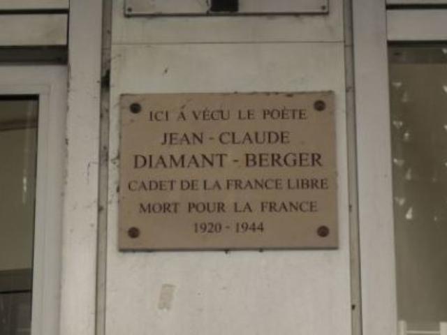 Jean-Claude Diamant-Berger à Paris Cadet et poète