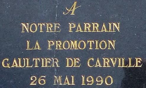 Plaque Gérard  Gaultier de Carville à Guiscriff