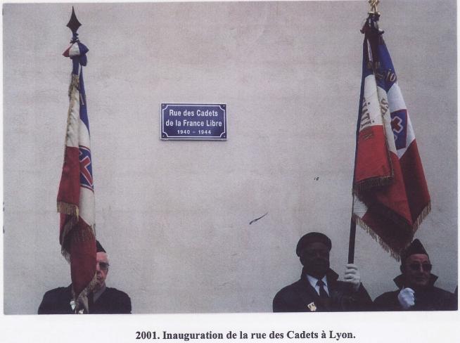 Lyon Rue des Cadets de la France libre