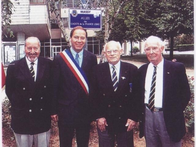 Allée des Cadets de la France Libre à Massy