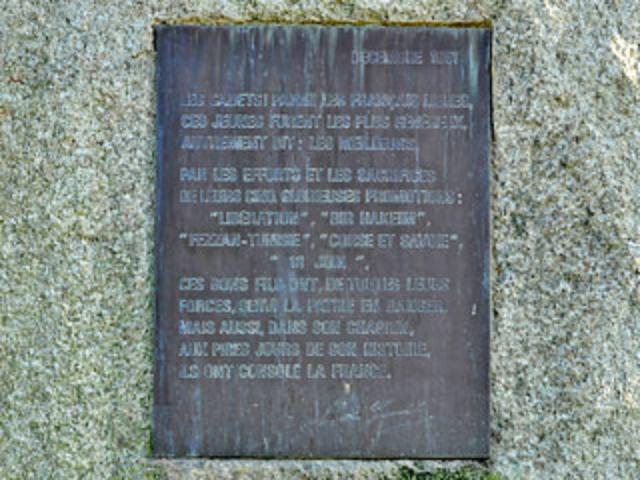 La plaque