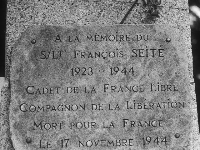 François SEITE à Locquirec